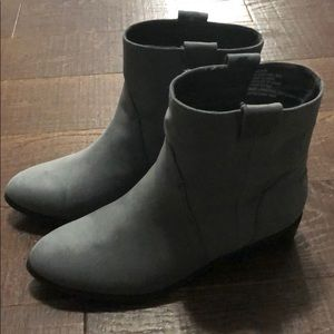 JustFab Shoes - Gray Booties